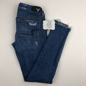 AEO American Eagle Super Low Jegging Jean